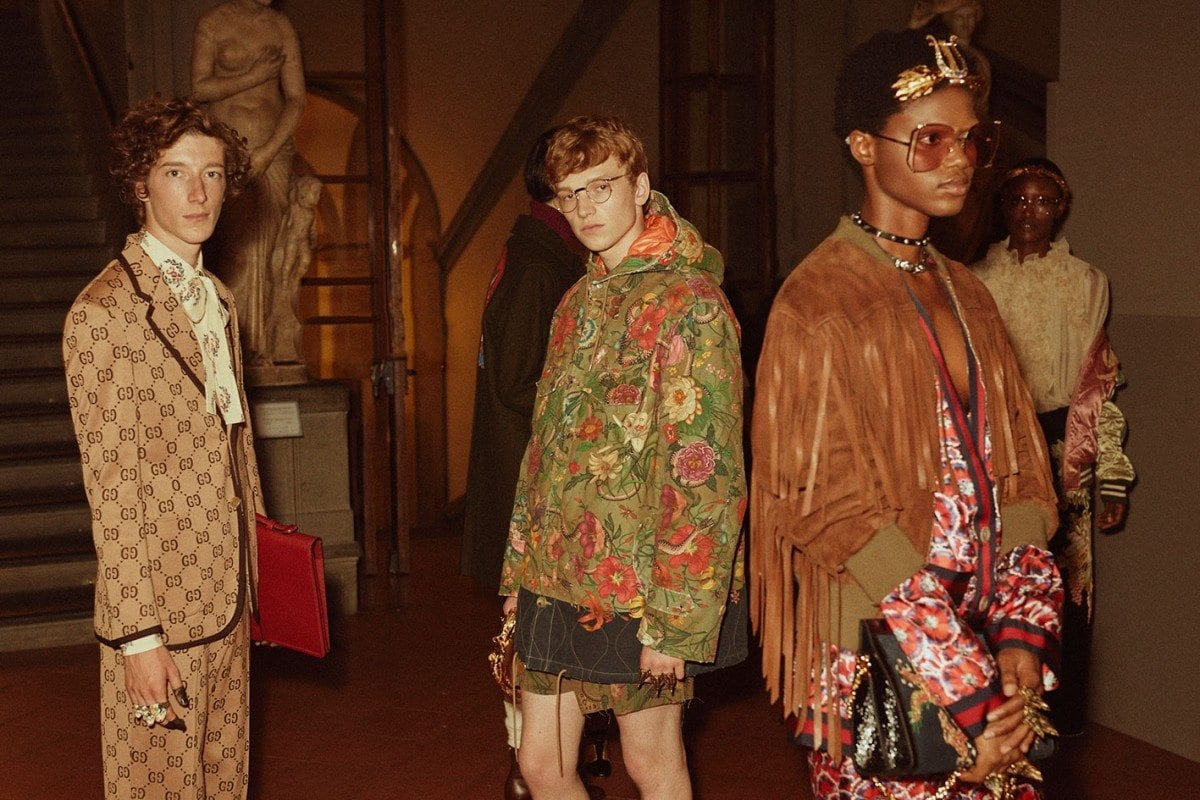 Gucci Cruise 2018 Florence