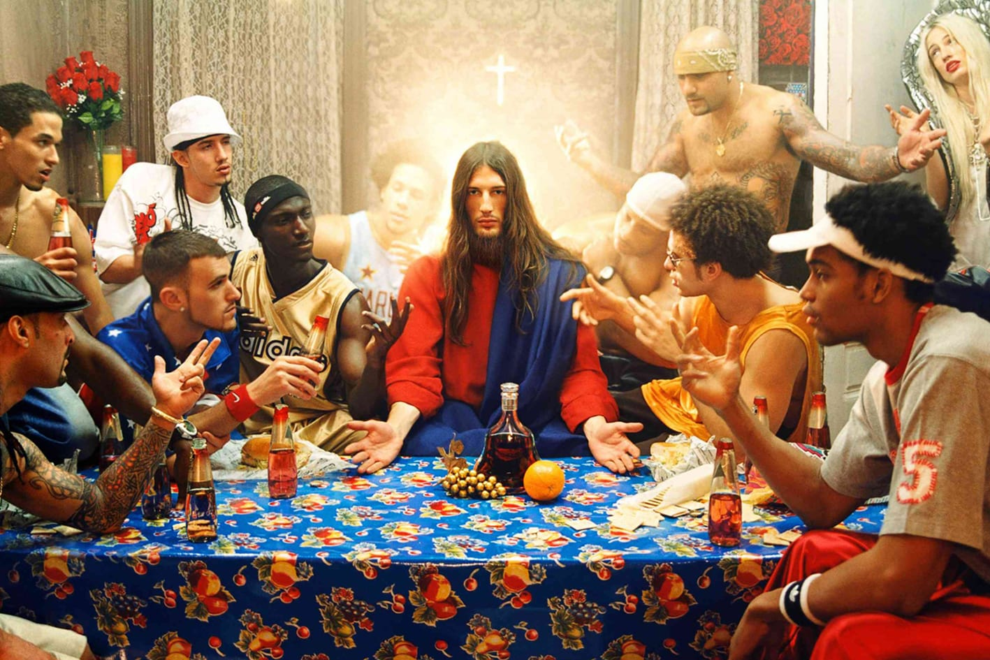 David Lachapelle Antidote La Cene Catholicisme Bling