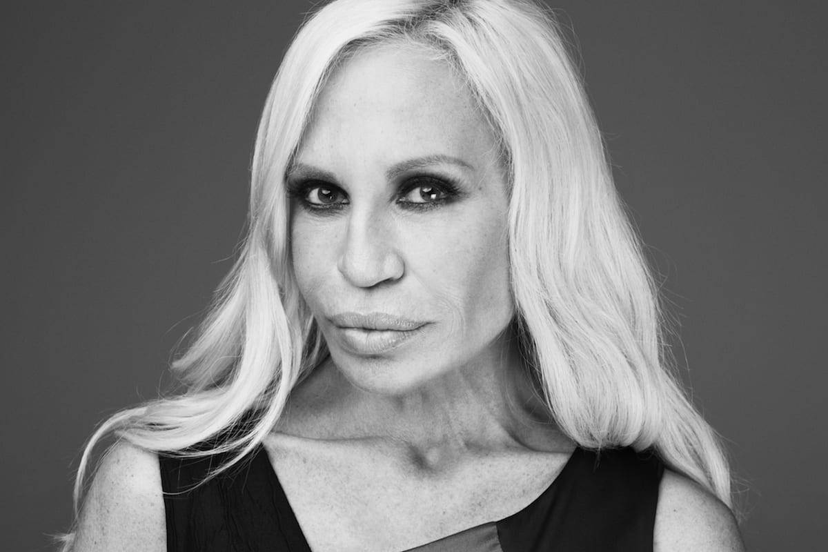 Donatella Versace Interview Antidote Copie