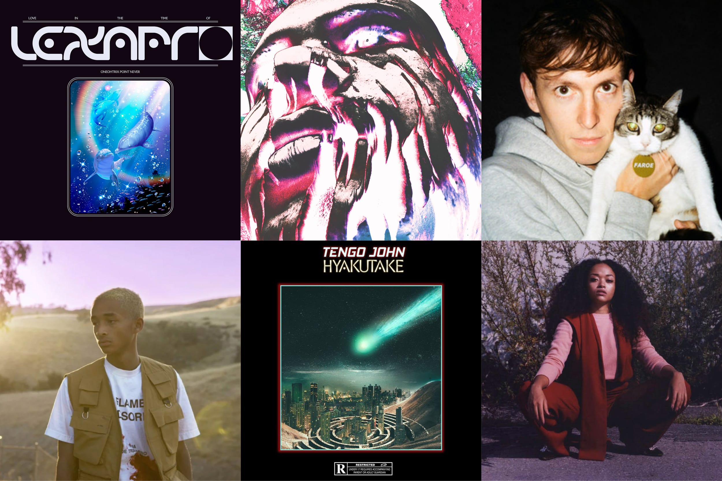 Les Sons De La Semaine : Jaden Smith, Faroe, Shay Lia, Timothée Joly, Tengo John Et Oneohtrix Point Never