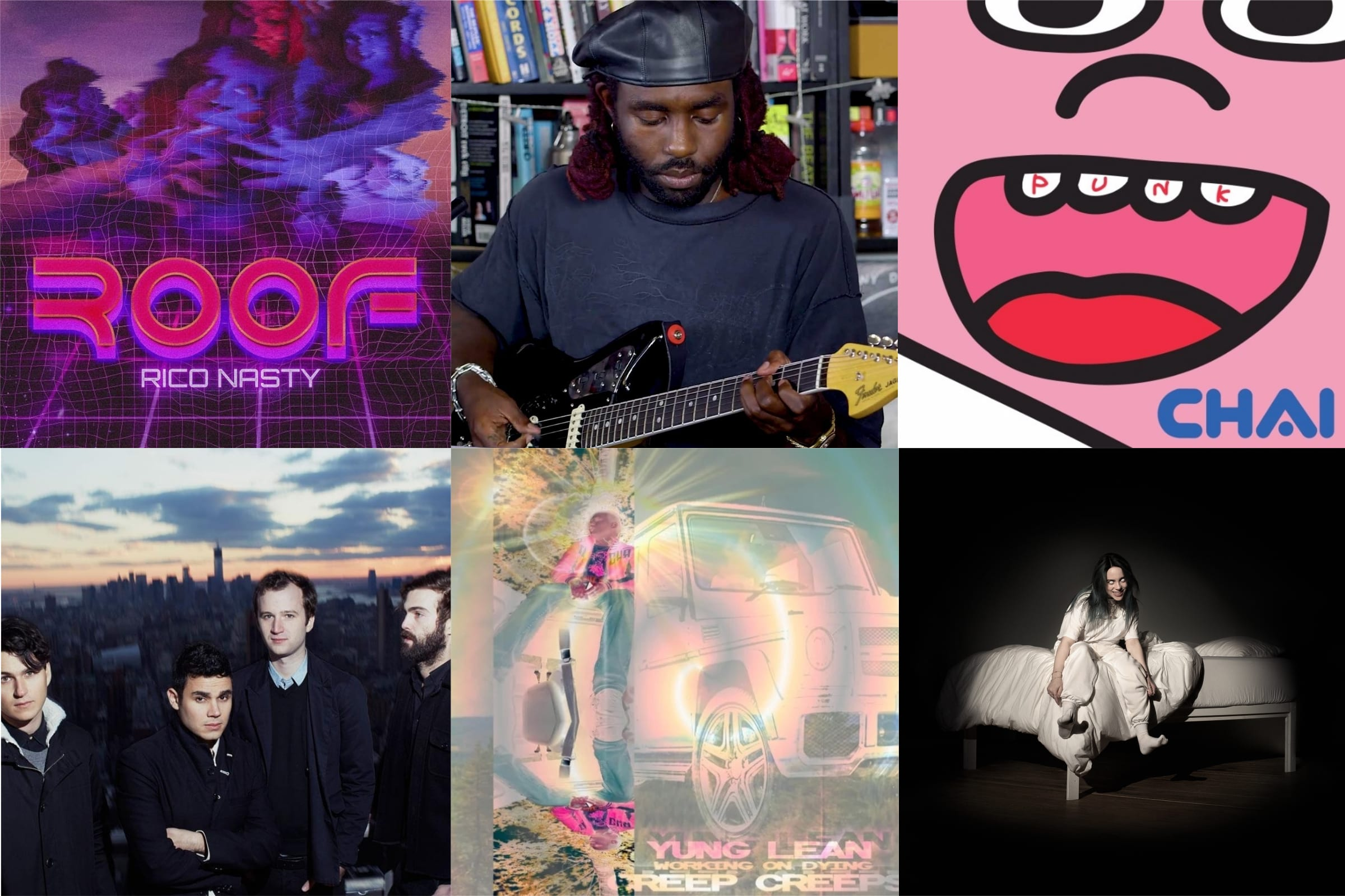 Les Sons De La Semaine : Billie Eillish, Blood Orange, Vampire Weekend, Rico Nasty, Chai Et Yung Lean