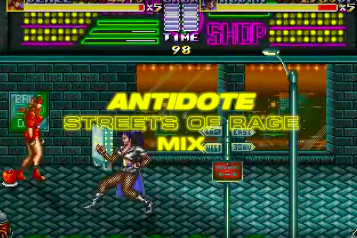 Antidote Mix Streets Of Rage