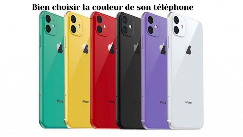 couleur telephone
