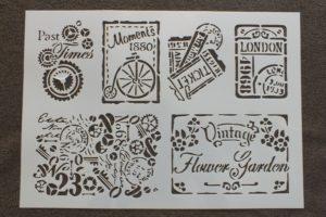 Pochoirs Vintage