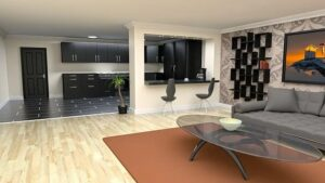 intérieur maison moderne