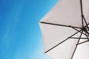 parasol deporté