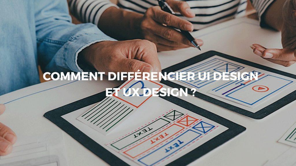 UI design et UX design