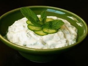 Masque yaourt et concombre