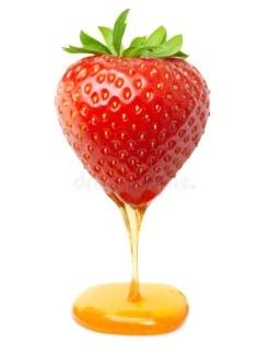Masque Miel et fraises