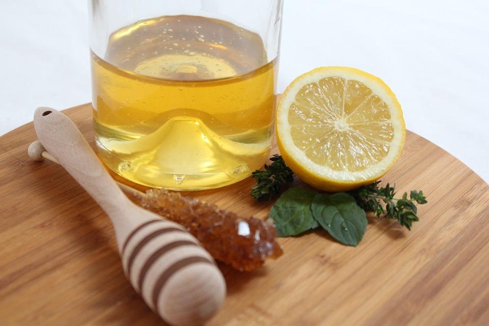 photo masque maison miel citron