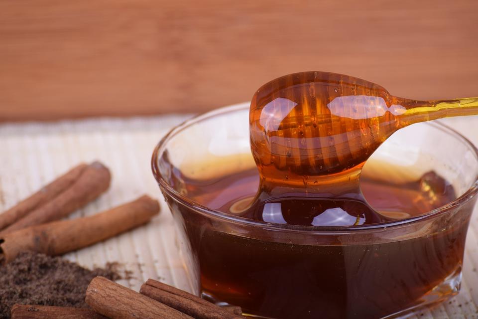 photo masque maison miel cannelle