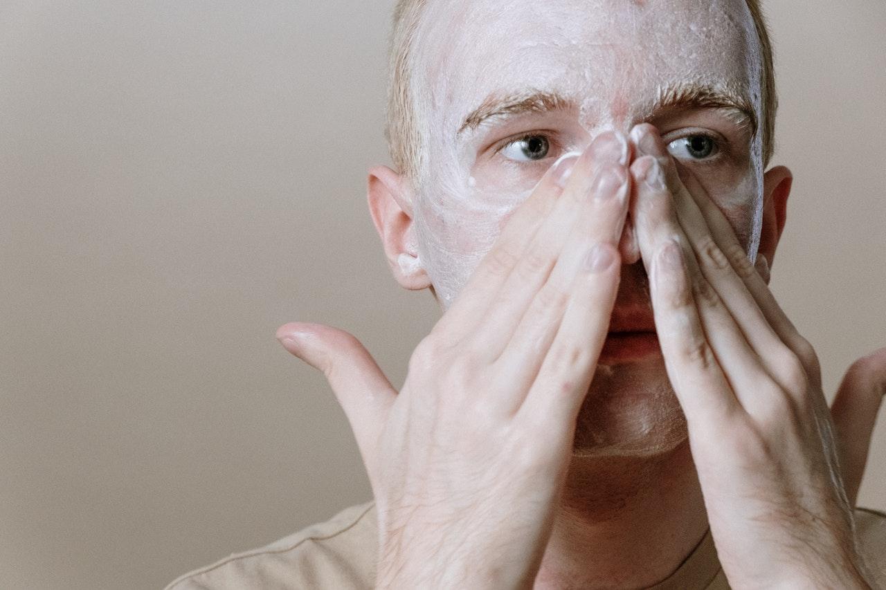 masque visage homme