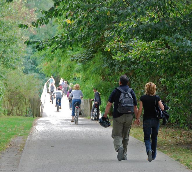 La promenade verte à Woluwe-Saint-Lambert. © Stéphane Mignon/Flickr/CC BY 2.0