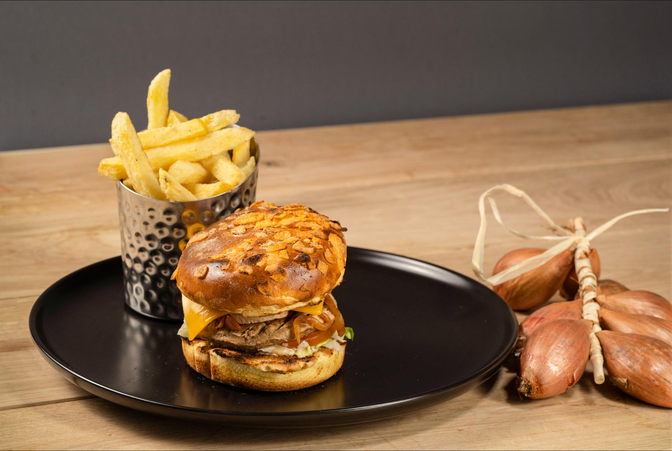 Les burgers végétariens de Be Burger : le durable à la carte