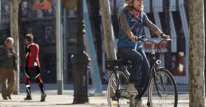La bicyclette a du jus !