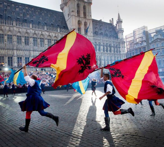 Bruxelles: l'Ommegang célèbre ses 90 ans