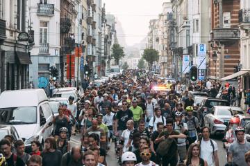 Roller Bike Parade : roulez en patins dans Bruxelles