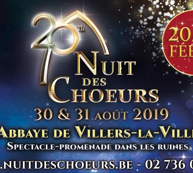 Nuit Des Chœurs 2019 : une nocturne dans un cadre unique