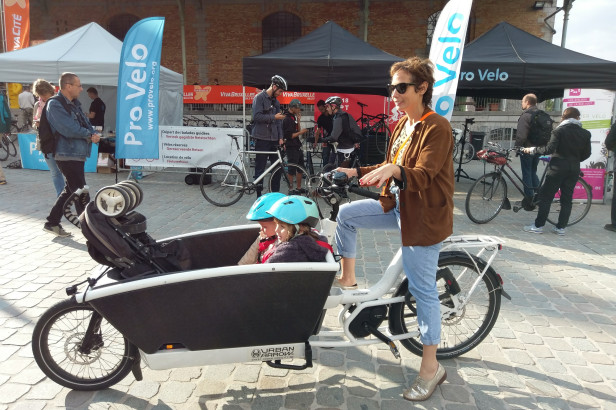 Bike Brussels : les bons plans vélo cargo avec le blog A Mother in the City