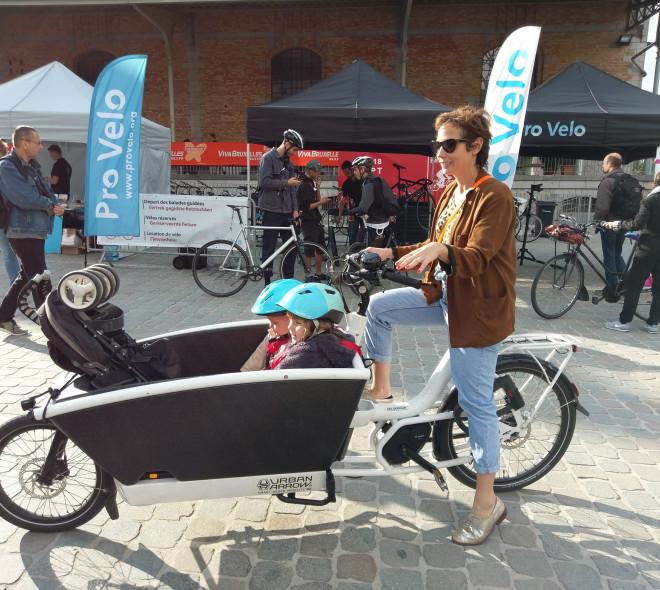 Bike Brussels : les bons plans vélo cargo avec le blog A Mother in the City