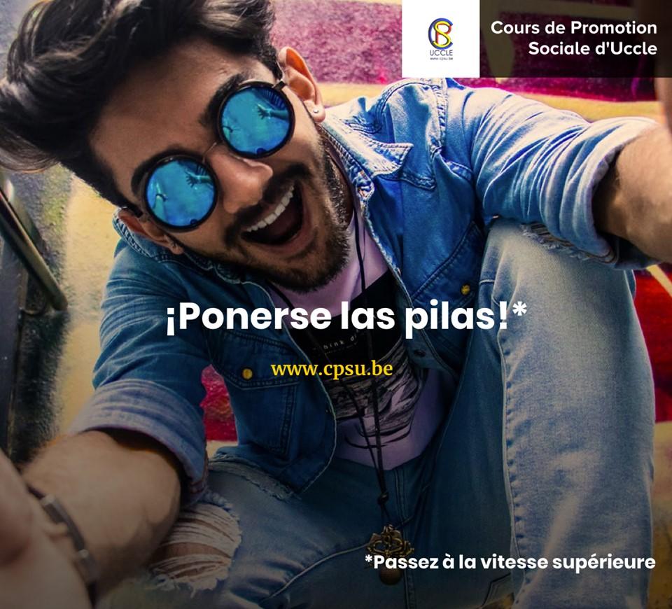 Vous aussi passez à la vitesse supérieur en espagnol avec les cours de niveau 3 ! Inscrivez-vous ➡️ https://www.cpsu.be