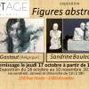 """Expo """"Figures abstraites"""" avec B. Gastout et S. Bouleau"""