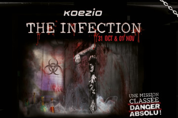 [CONTEST] The Infection: Tremble for Halloween with Koezio's escape room