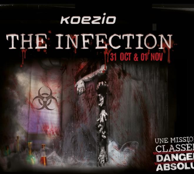 The Infection : tremblez pour Halloween avec l'escape room de Koezio