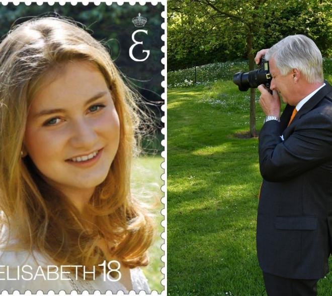 La Poste célèbre les 18 ans de la princesse Elisabeth avec un timbre à son effigie