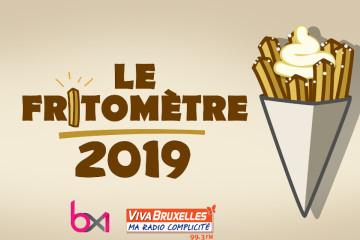 Élisez votre fritkot bruxellois préféré avec le Fritomètre 2019 !