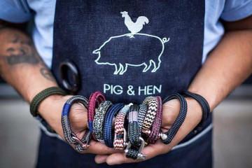 Chez Hopono, prenez le large avec les bracelets Pig & Hen