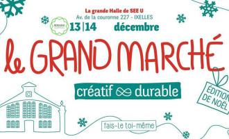 Grand marché de Noël créatif & durable
