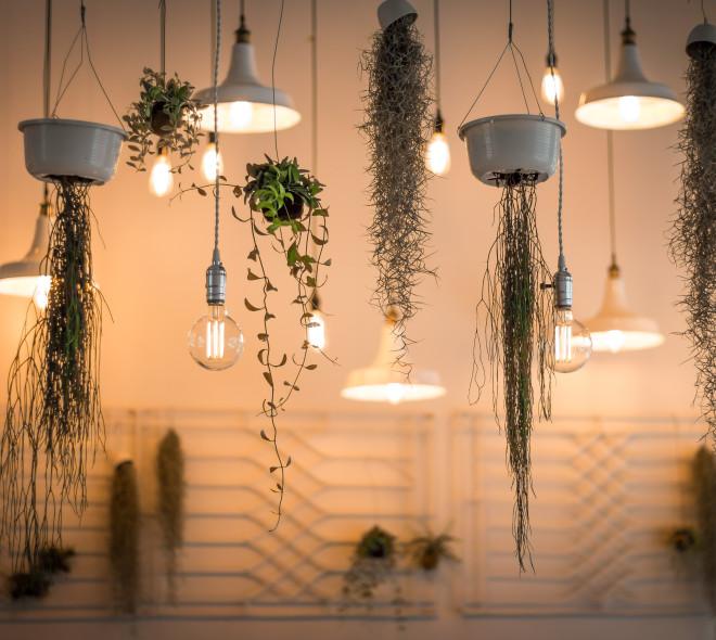 Des boutiques lumineuses pour trouver des lampes design de seconde main