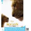 """Ciné Junior : """"Le roi lion"""" (2019)"""
