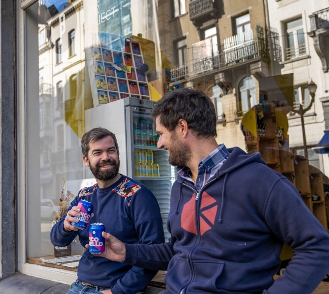 La bière sans alcool de Brussels Beer Project, c'est Pico Bello