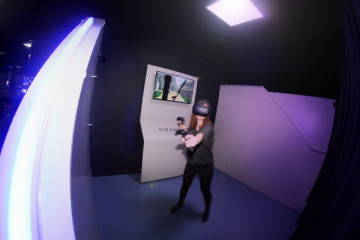 Futurist Games innove à Bruxelles avec la réalité virtuelle sans fil !