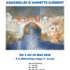 Exposition aquarelles d'Annette Clément