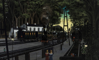 Paul Delvaux, the man who loved trains