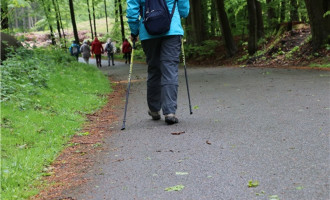 Nordic walking voorjaar