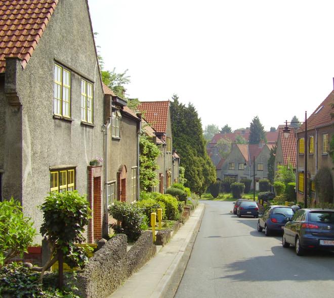 La Cité Floréal à Watermael-Boitsfort.