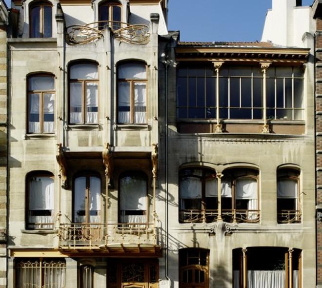 La maison-atelier de Victor Horta, aujourd'hui Musée Horta, au numéro 25 de la rue Américaine à Saint-Gilles.