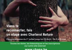 Les milieux aquatiques et jeux forestiers (5-15 ans) et Cabanes et survie en forêt (5-15 ans)