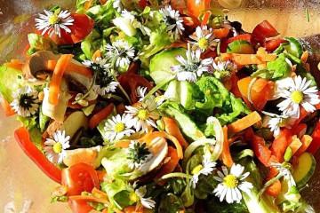 Koken met bloemen