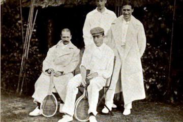 Il y avait un Bruxellois en finale de la Coupe Davis en 1904: Paul de Borman fut aussi footballeur au Léopold!