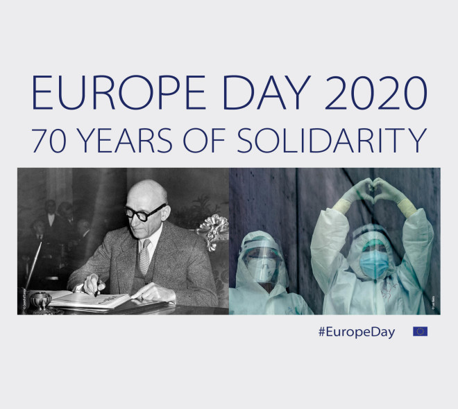 Stay-at-home Europe Day