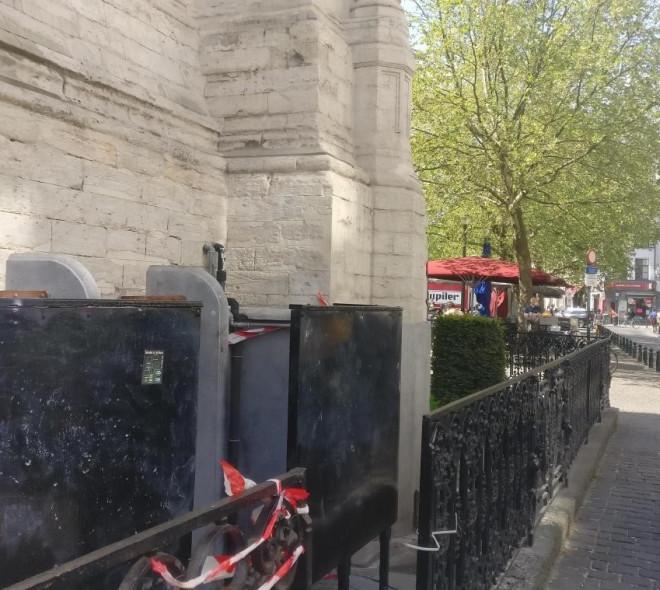 Les pissotières de Bruxelles