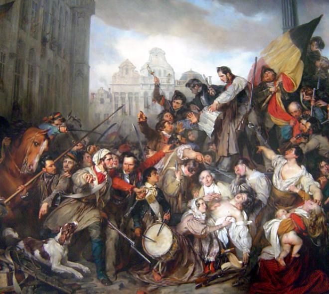 La Révolution belge, il y a 190 ans…