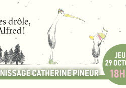 Exposition Catherine Pineur - Vernissage
