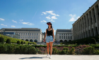 Flybox, discover Belgium with virtual reality