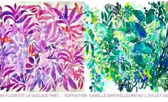 """Exposition ISABELLE BARTHEL : découvrez la nouvelle collection """"Poésie"""""""